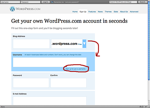 how to delete a wordpress account