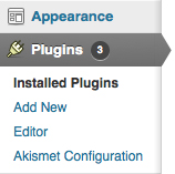 Only three plugins to update