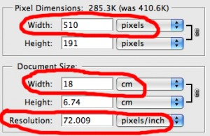 Picture pixels and resolutions