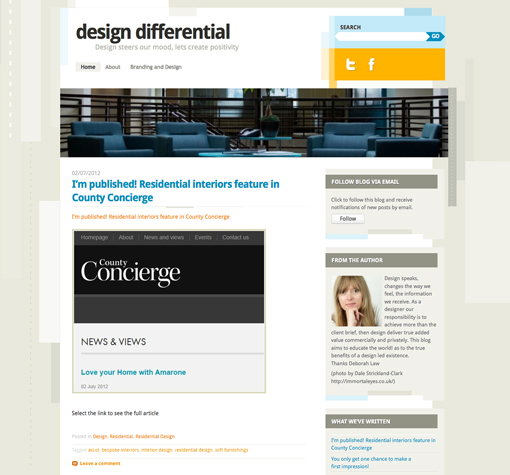 Design Differential blog