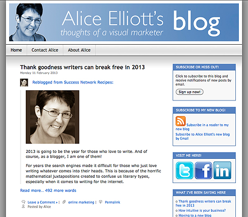 Post reblogged from one WordPress.com blog to another