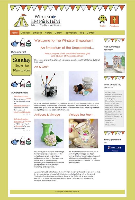 Windsor Emporium Website