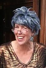 Grandma Mary, the alter ego of Andrea Vahl