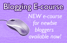 Newbie Blogger E-course