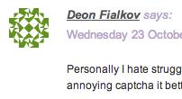 Deon's avatar