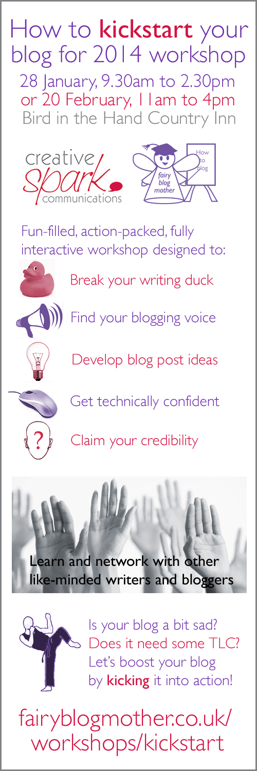 Kickstart your blog for 2014