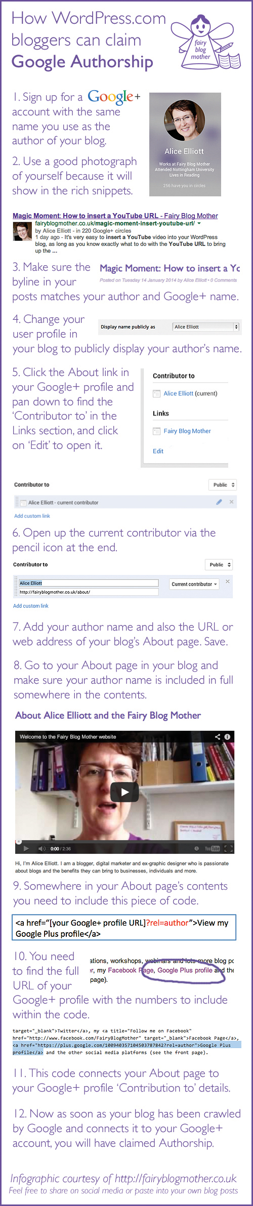 How to claim Google Authorship if you have a WordPress.com blog