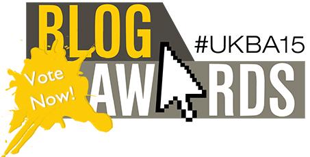 National UK Blog Awards 2015