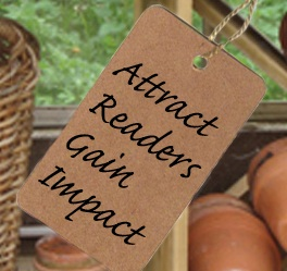 Attract Readers: Gain Impact