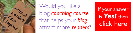 Would you like a blog coaching course that helps your blog attract more readers?