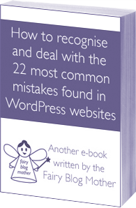 22 most common mistakes found in WordPress websites