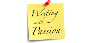 Writing with passion