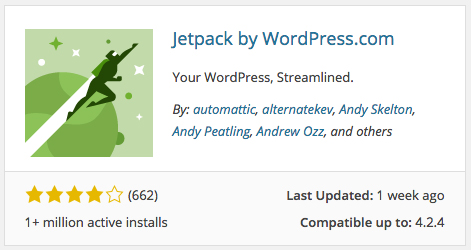 Upload the JetPack plugin to see your blog stats