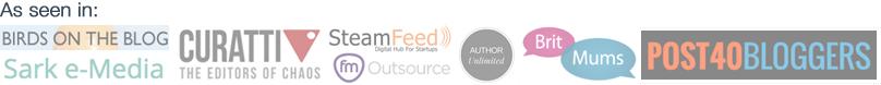 Guest blogging logos
