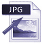Jpg and arrow