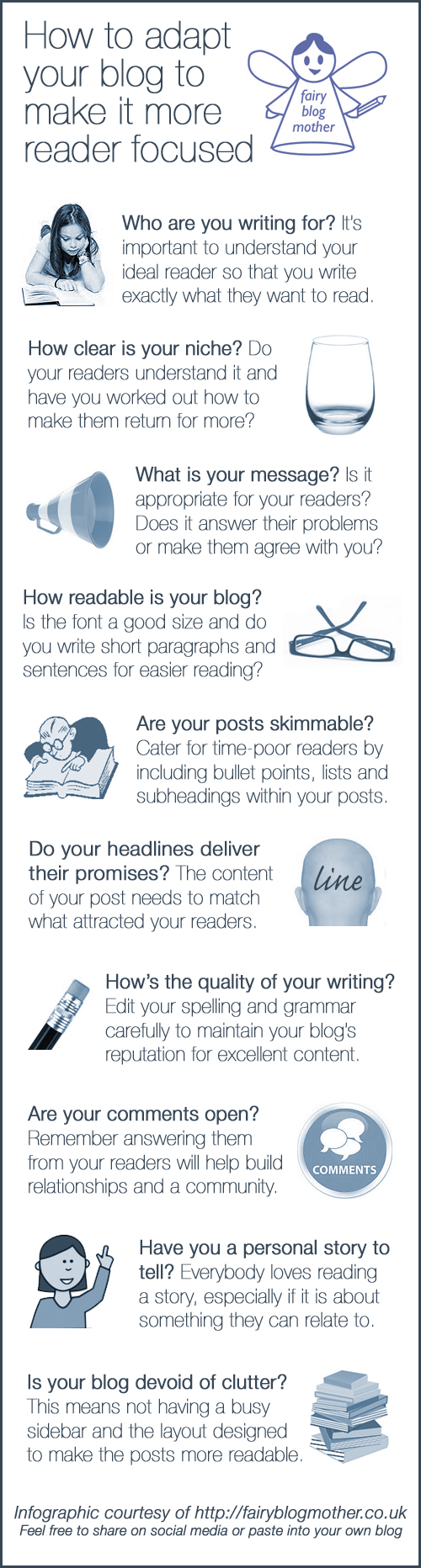 How to make your blog more attractive to your ideal reader