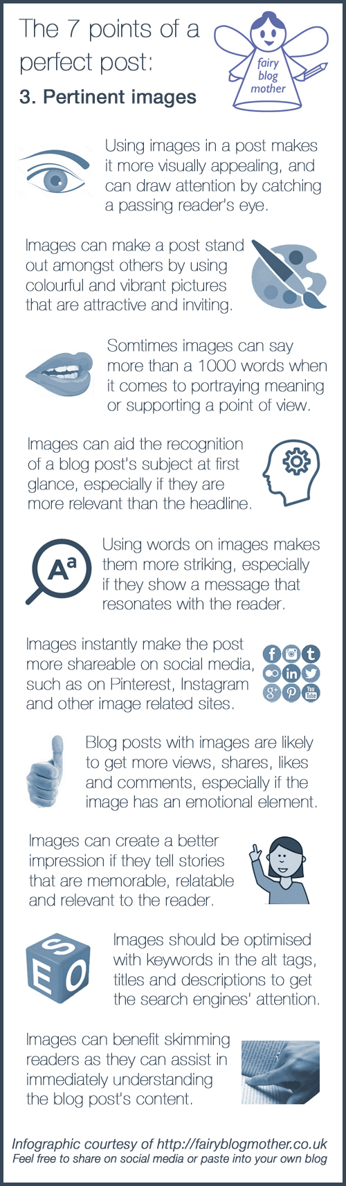 How to use images effectively to attract readers to your post
