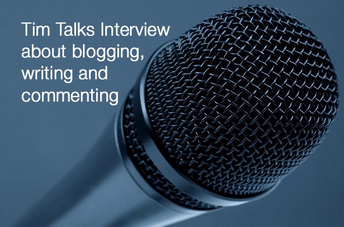 Tim Talks Interview