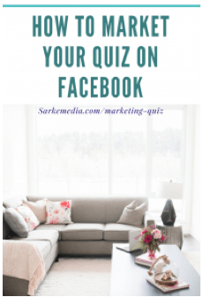 How to market your quiz on Facebook 2