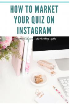How to market your quiz on Instagram