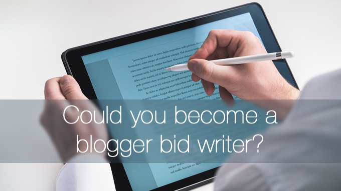 blogger bid writer