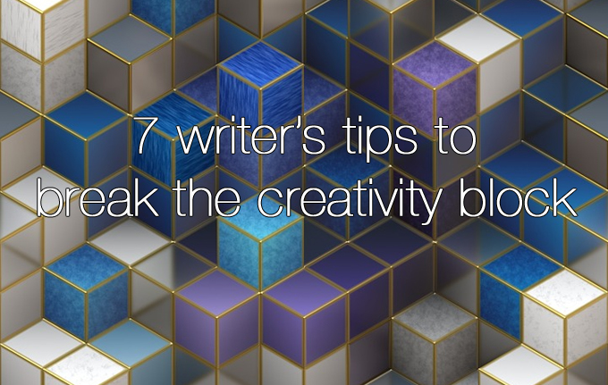 break the creativity block