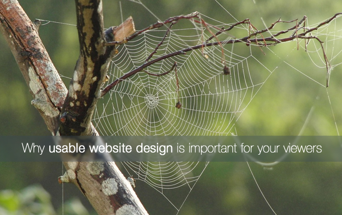 usable website design
