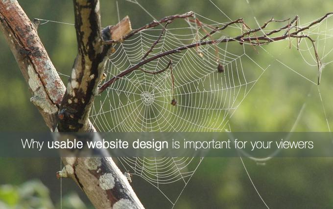 usable website design