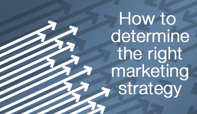 right marketing strategy