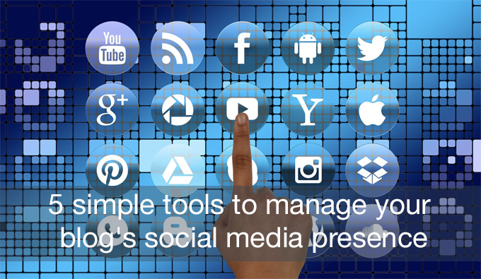 manage your blog's social media presence