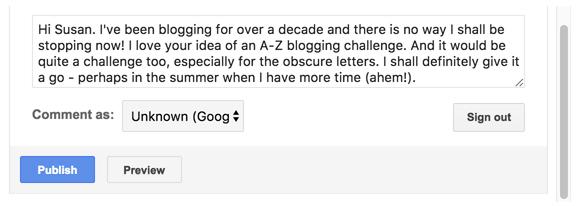 Written comment