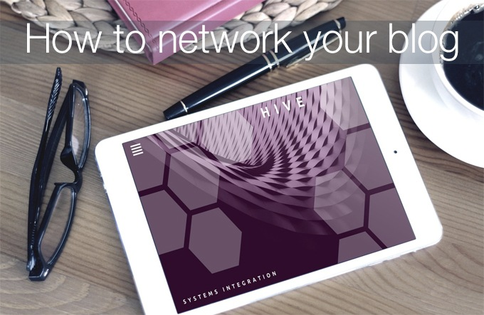 how to network your blog