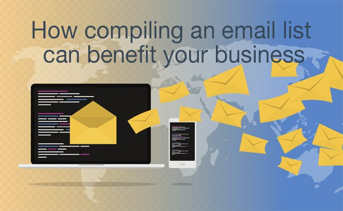 compiling an email list