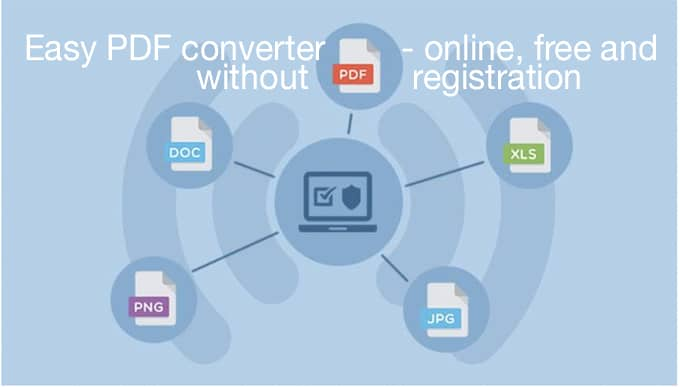 Easy PDF Converter - Online, Free & No Registration | Fairy Blog Mother