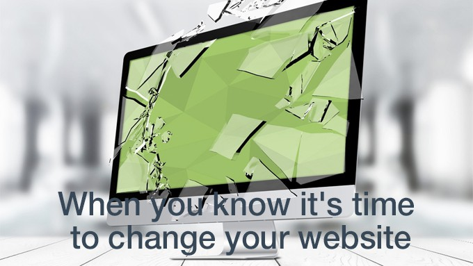 change your website