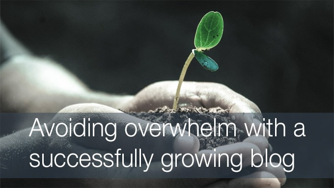 growing blog