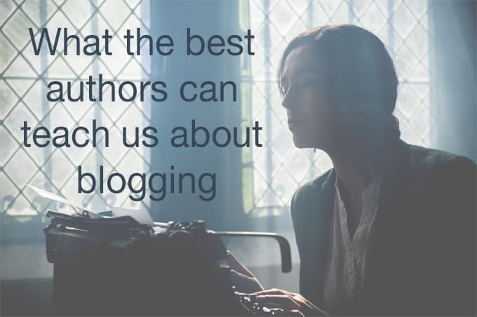 best authors teach about blogging