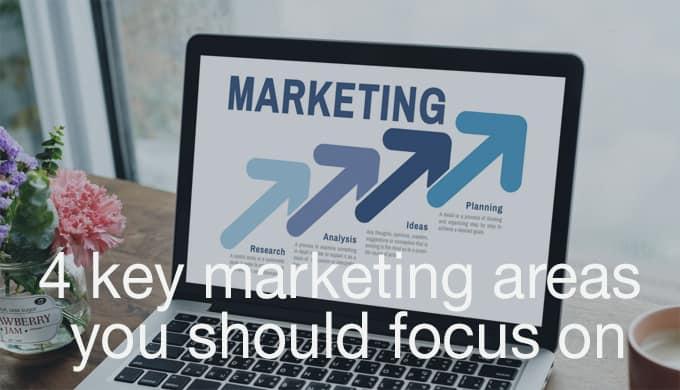 key marketing areas