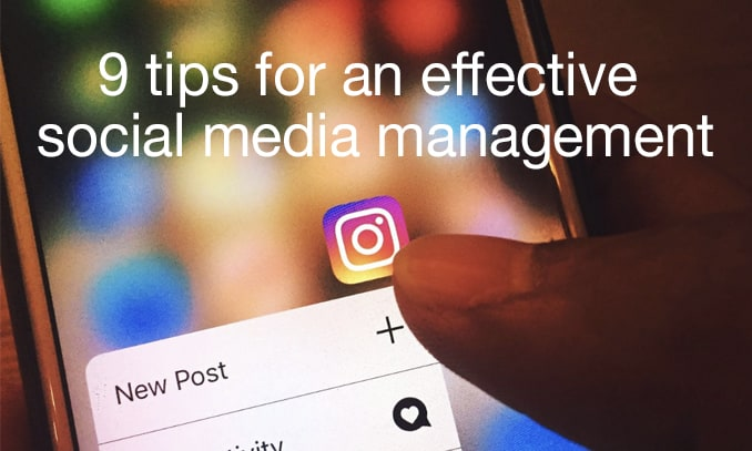 effective social media management
