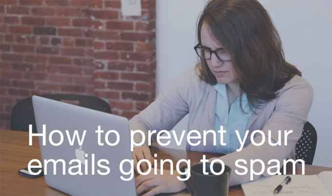 prevent emails going to spam