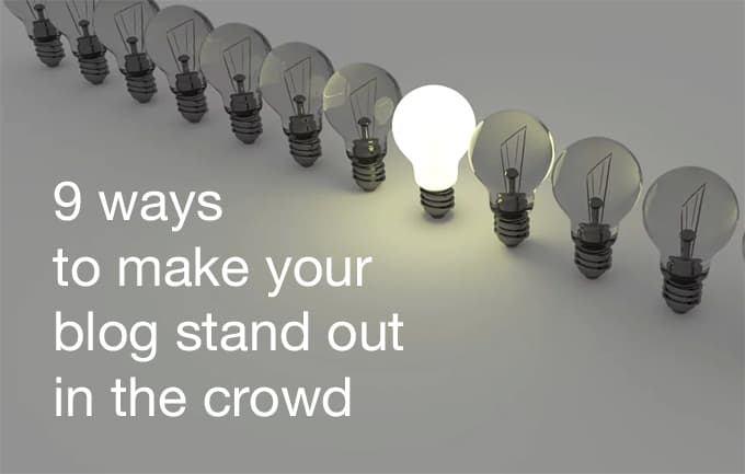 blog stand out