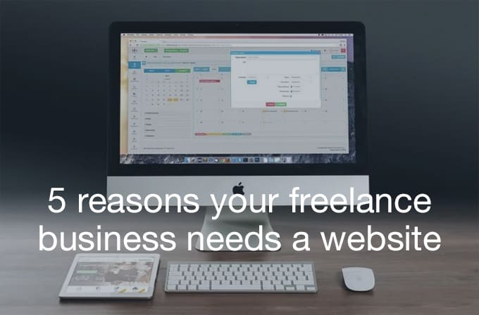 freelance business needs a website