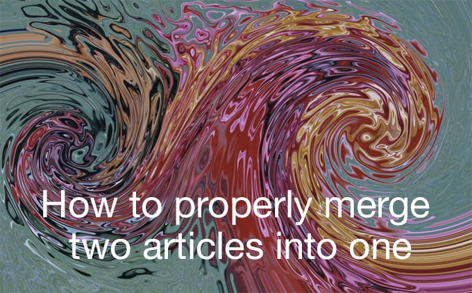 merge two articles