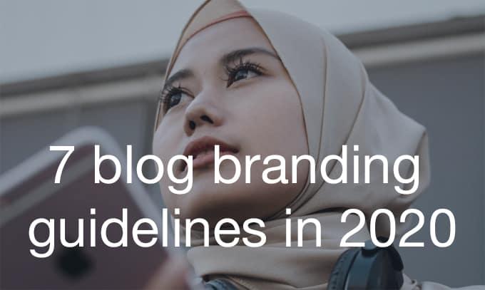 blog branding guidelines