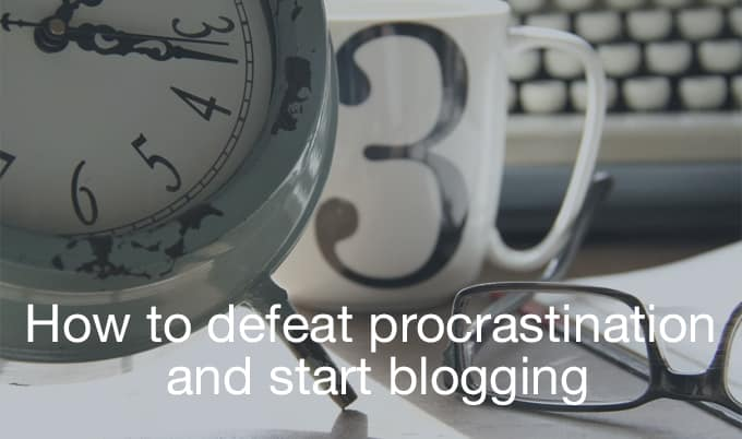 defeat procrastination