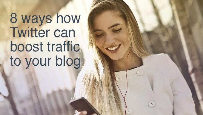 boost traffic using Twitter