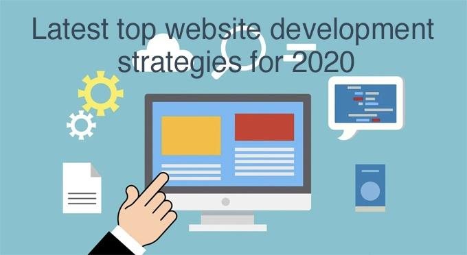 wesbite development strategies