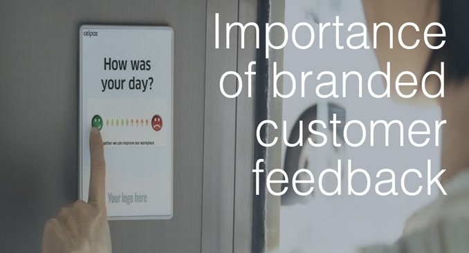 branded customer feedback