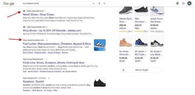 Prevalance of Nike Ads