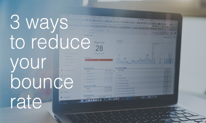 reduce your bounce rate